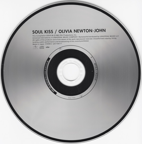 Olivia Newton-John Soul Kiss Japan SHM-CD Mini LP UICY-94717