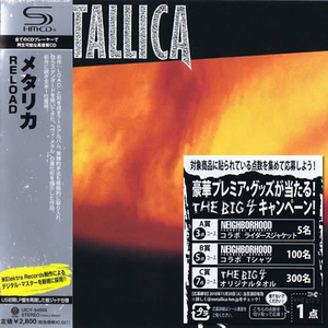 Metallica - Reload Japan SHM-CD Mini LP UICY-94668