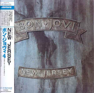 Bon Jovi New Jersey Japan SHM-CD Mini LP UICY-94549 (UICX-1341)