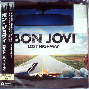 Bon Jovi - Lost Highway Japan SHM-CD Mini LP UICY-94555