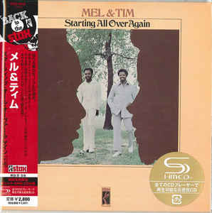 Mel & Tim - Starting All Over Again Japan SHM-CD Mini LP UCCO-9548