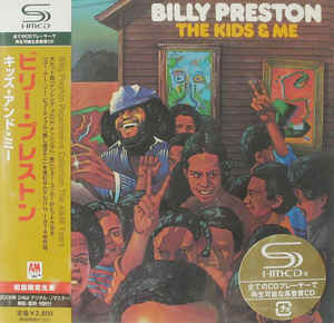 Billy Preston - The Kids & Me Japan SHM-CD Mini LP UICY-93459