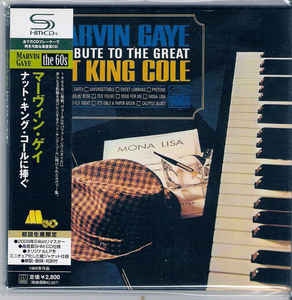 Marvin Gaye A Tribute to the Great Nat King Cole Japan SHM-CD Mini LP UICY-94028
