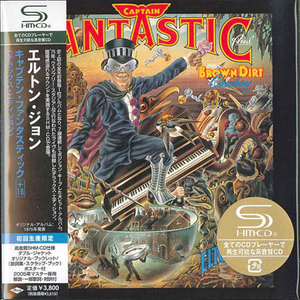 Elton John - Captain Fantastic Japan SHM-2CD Mini LP UICY-93674/5