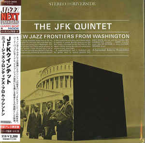 "The ""JFK"" Quintet New Jazz Frontiers From Washington Japan Mini LP UCCO-9459"