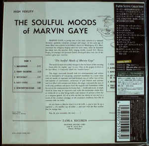 The Soulful Moods Of Marvin Gaye Japan SHM-CD Mini LP UICY-94022