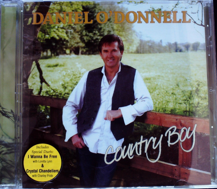 Daniel O'Donnell - Country Boy CD New Sealed