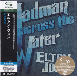Elton John - Madman Across The Water Japan SHM-CD Mini LP UICY-93668