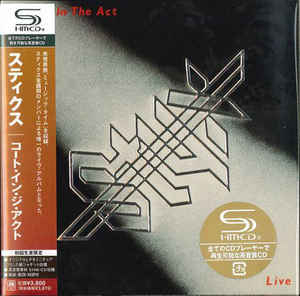 Styx - Caught In The Act Live Japan SHM-2CD Mini LP UICY-93926/7