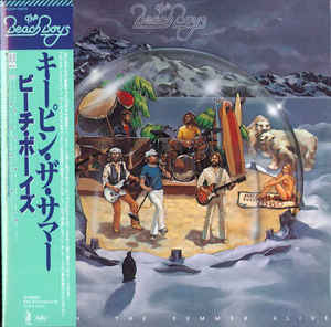 The Beach Boys Keepin' The Summer Alive Japan Mini LP TOCP-70570