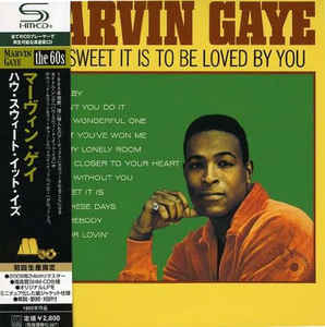 Marvin Gaye How Sweet It Is To Be Loved By You Japan SHM-CD Mini LP UICY-94027