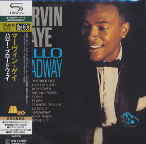 Marvin Gaye - Hello Broadway Japan SHM-CD Mini LP UICY-94026