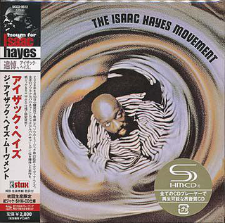 Isaac Hayes - The Isaac Hayes Movement Japan SHM-CD Mini LP UCCO-9512