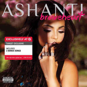 Ashanti - Braveheart CD Explicit New Sealed Target Exclusive + 2 Bonus Songs