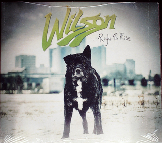 Wilson - Right To Rise CD Sealed Digipak