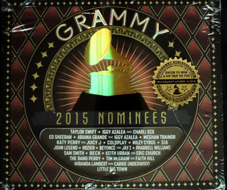 Various Artist - Grammy Nominees 2015 CD Sealed Jewel Case Cracked