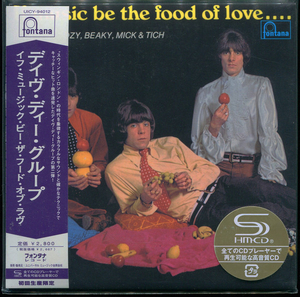 Dave Dee, Dozy, Beaky, Mick If Music Be The Food Of Love Japan SHM-CD Mini LP UICY-94012