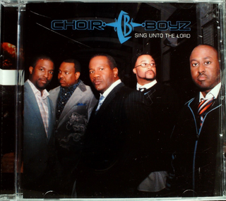 The Choir Boyz - Sing Unto The Lord CD Sealed Jewel Case Cracked