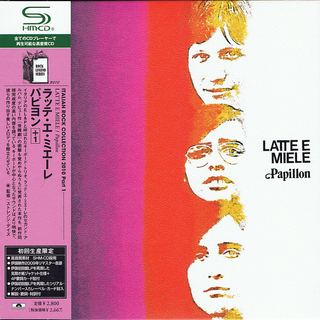 Latte E Miele - Papillon Japan SHM-CD Mini LP UICY-94504