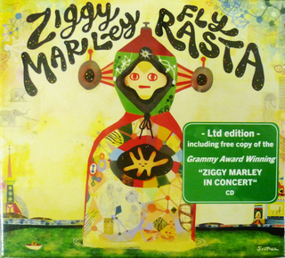 Ziggy Marley - Fly Rasta Brand New 2CD Limited Edition BOXSET