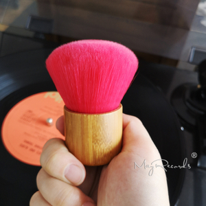 High Quality Wooden Handle Cleaning Soft Brush for Vinyl LP Player Accessories