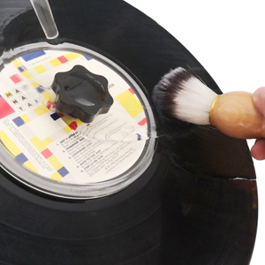 Wood Brush Water Cleaning Brush for LP Record Vinyl