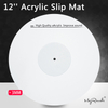 3MM Acrylic Slip Mat for Phonograph Turntable Vinyl LP Mat Improve sound quality