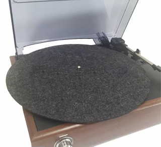 293mm Grey LP Mat Anti-static 12'' Felt Record Mat for Phonograph Thickness 3MM
