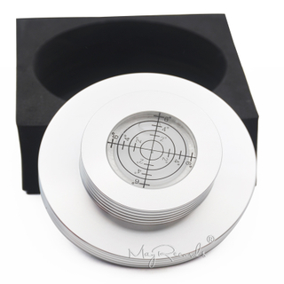 Metal Record Clamp LP Disc Stabilizer Balance Measure Vibration For Turntable