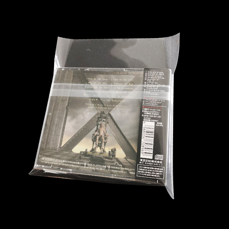 25 Clear Resealable Outer Sleeves for 4CD BOXSET