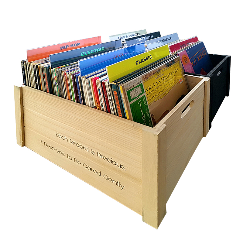 Genre Record Dividers Organizer Tab Acrylic Cards for Record Albums Organization